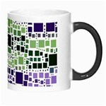 Block On Block, Purple Morph Mugs Right
