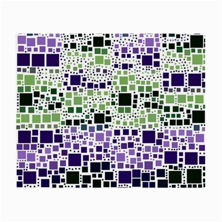 Block On Block, Purple Small Glasses Cloth