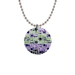 Block On Block, Purple Button Necklaces by MoreColorsinLife