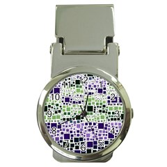 Block On Block, Purple Money Clip Watches by MoreColorsinLife