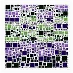 Block On Block, Purple Medium Glasses Cloth (2-Side)