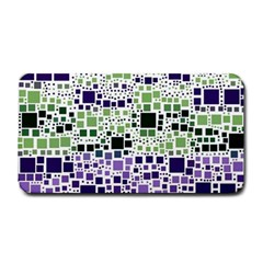Block On Block, Purple Medium Bar Mats by MoreColorsinLife