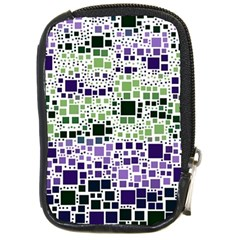 Block On Block, Purple Compact Camera Cases by MoreColorsinLife