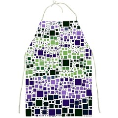 Block On Block, Purple Full Print Aprons by MoreColorsinLife