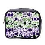 Block On Block, Purple Mini Toiletries Bag 2-Side