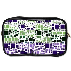 Block On Block, Purple Toiletries Bags by MoreColorsinLife