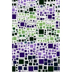 Block On Block, Purple 5 5  X 8 5  Notebooks