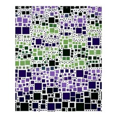 Block On Block, Purple Shower Curtain 60  X 72  (medium)
