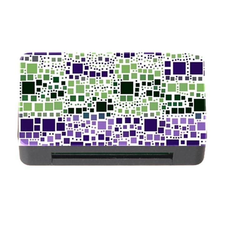Block On Block, Purple Memory Card Reader with CF
