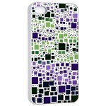 Block On Block, Purple Apple iPhone 4/4s Seamless Case (White) Front