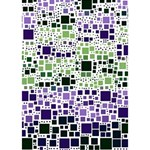 Block On Block, Purple YOU ARE INVITED 3D Greeting Card (7x5) Inside
