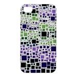 Block On Block, Purple Apple iPhone 4/4S Hardshell Case