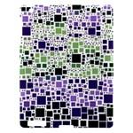 Block On Block, Purple Apple iPad 3/4 Hardshell Case