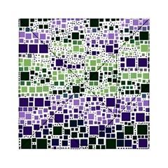 Block On Block, Purple Acrylic Tangram Puzzle (6  X 6 )