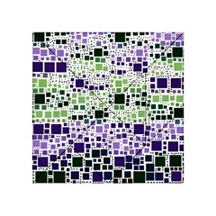 Block On Block, Purple Acrylic Tangram Puzzle (4  X 4 )