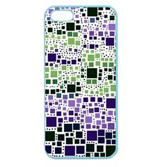 Block On Block, Purple Apple Seamless Iphone 5 Case (color) by MoreColorsinLife