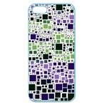 Block On Block, Purple Apple Seamless iPhone 5 Case (Color)