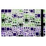 Block On Block, Purple Apple iPad 3/4 Flip Case