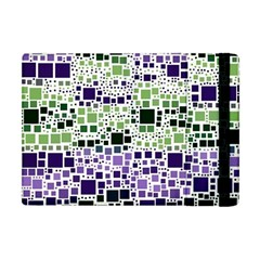 Block On Block, Purple Apple Ipad Mini Flip Case by MoreColorsinLife