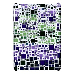 Block On Block, Purple Apple Ipad Mini Hardshell Case by MoreColorsinLife