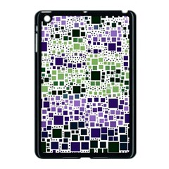 Block On Block, Purple Apple Ipad Mini Case (black) by MoreColorsinLife