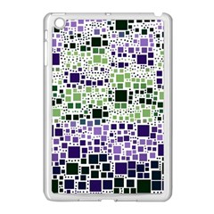 Block On Block, Purple Apple Ipad Mini Case (white) by MoreColorsinLife
