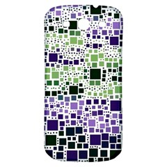 Block On Block, Purple Samsung Galaxy S3 S Iii Classic Hardshell Back Case by MoreColorsinLife