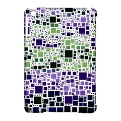 Block On Block, Purple Apple Ipad Mini Hardshell Case (compatible With Smart Cover) by MoreColorsinLife