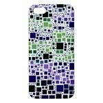 Block On Block, Purple Apple iPhone 5 Premium Hardshell Case