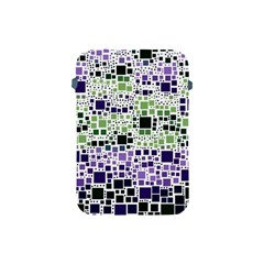 Block On Block, Purple Apple Ipad Mini Protective Soft Cases by MoreColorsinLife