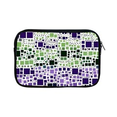 Block On Block, Purple Apple Ipad Mini Zipper Cases by MoreColorsinLife