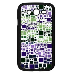 Block On Block, Purple Samsung Galaxy Grand Duos I9082 Case (black) by MoreColorsinLife