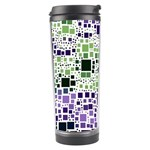 Block On Block, Purple Travel Tumbler Center