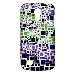 Block On Block, Purple Galaxy S4 Mini by MoreColorsinLife