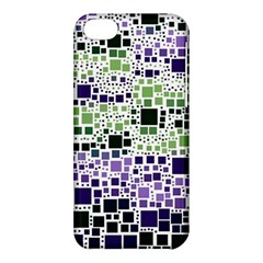 Block On Block, Purple Apple Iphone 5c Hardshell Case