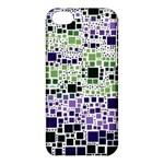 Block On Block, Purple Apple iPhone 5C Hardshell Case