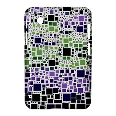 Block On Block, Purple Samsung Galaxy Tab 2 (7 ) P3100 Hardshell Case