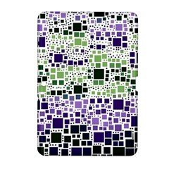 Block On Block, Purple Samsung Galaxy Tab 2 (10 1 ) P5100 Hardshell Case  by MoreColorsinLife