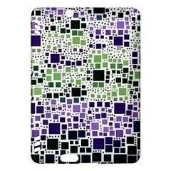 Block On Block, Purple Kindle Fire Hdx Hardshell Case by MoreColorsinLife