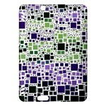 Block On Block, Purple Kindle Fire HDX Hardshell Case