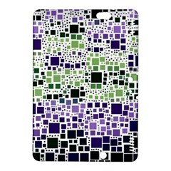 Block On Block, Purple Kindle Fire Hdx 8 9  Hardshell Case by MoreColorsinLife
