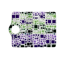 Block On Block, Purple Kindle Fire Hd (2013) Flip 360 Case by MoreColorsinLife