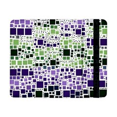 Block On Block, Purple Samsung Galaxy Tab Pro 8 4  Flip Case by MoreColorsinLife