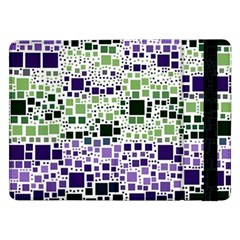 Block On Block, Purple Samsung Galaxy Tab Pro 12 2  Flip Case by MoreColorsinLife