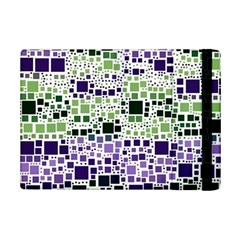Block On Block, Purple Ipad Mini 2 Flip Cases by MoreColorsinLife
