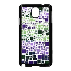 Block On Block, Purple Samsung Galaxy Note 3 Neo Hardshell Case (black)