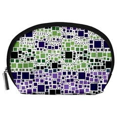 Block On Block, Purple Accessory Pouches (Large)