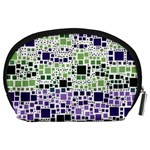 Block On Block, Purple Accessory Pouches (Large)  Back