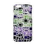 Block On Block, Purple Apple iPhone 6/6S Hardshell Case