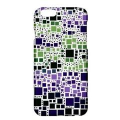 Block On Block, Purple Apple Iphone 6 Plus/6s Plus Hardshell Case by MoreColorsinLife